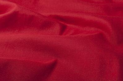 Tkanina królewska czerwień.