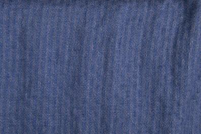 Prana tkanina lniana w niebieskie odcinki.