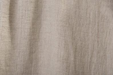 Jasnoszara prana tkanina lniana wzór waflowy.