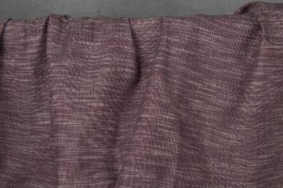 Tkanina fioletowy melanż.