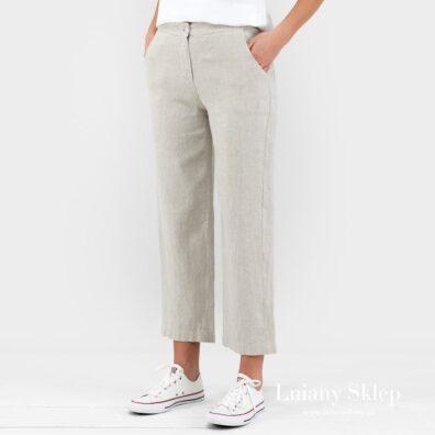 Birma spodnie jasne szare.