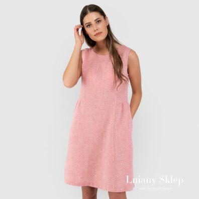 JAMAIKA różowa sukienka.