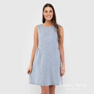 JAMAIKA niebieska sukienka.