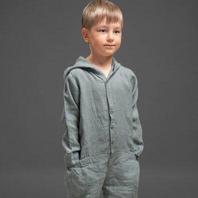 Lniane ubrania dla chłopców