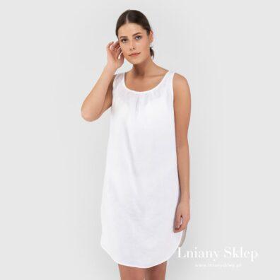 BAHAMA biała nocna koszulka.